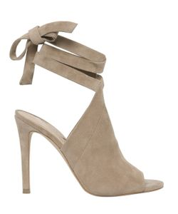 KENDALL + KYLIE   105mm Evelyn Suede Wrap Around Sandals