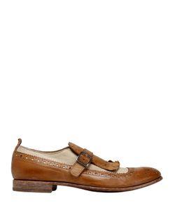 Moma | Кожаные Туфли-Монки