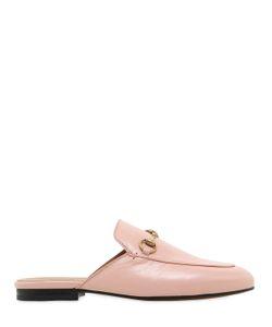 Gucci | Кожаные Туфли-Мюли Princetown 10Мм