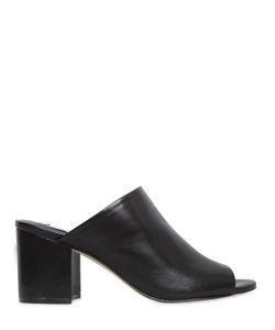 STEVE MADDEN | 70mm Infinity Leather Mules