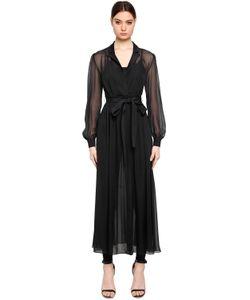 Karl Lagerfeld   Платье И Комбинезон Ikonik Из Шёлкового Шифона