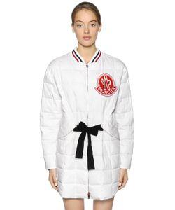 Moncler Gamme Rouge | Куртка Из Хлопковой И Шёлковой Саржи