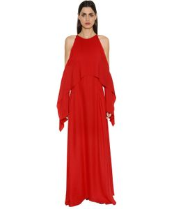 ROSETTA GETTY | Платье Из Двойного Жоржета