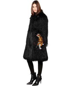Ainea | Пальто Из Искусственного Меха С Перьями