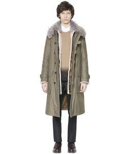 Valentino | Хлопковое Пальто И Парка С Мехом