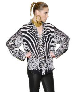 Balmain | Рубашка Из Шелка Жоржет