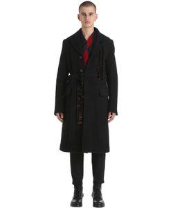 Damir Doma | Пальто Из Плотной Двойной Шерсти И Шерсти Мохер