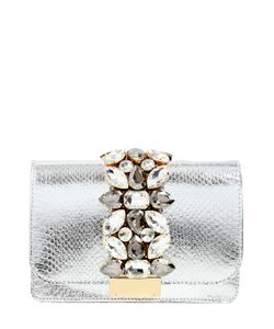 Gedebe | Water Snake Jeweled Clutch