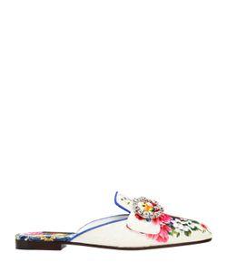 Dolce & Gabbana | Туфли-Мюли Jackie Из Жаккарда 10mm