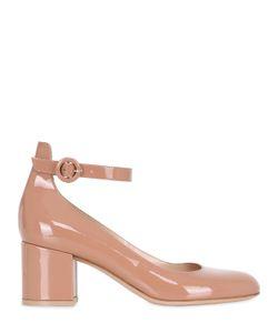 Gianvito Rossi | Туфли Mary Jane Из Лакированной Кожи 60mm