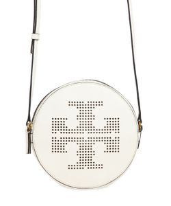 Tory Burch | Perforated Logo Leather Crossbody