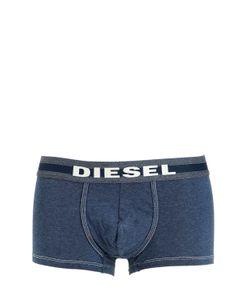 Diesel | Трусы-Боксеры Из Стретч Хлопка С Эффектом Деним