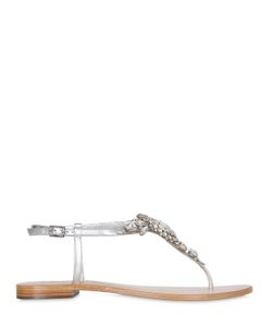 VENTI 12 | 10mm Crystal Leather Sandals