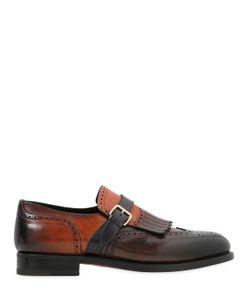 Santoni | Кожаные Туфли-Монки