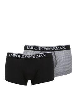 Emporio Armani | Набор Трусов-Боксеров Из Хлопкового Джерси