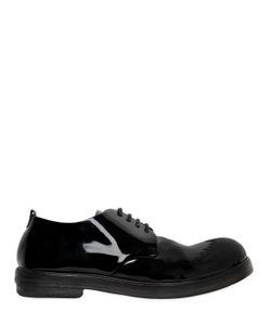 Marsell | Ботинки Из Лакированной Кожи С Винтажным Эффектом