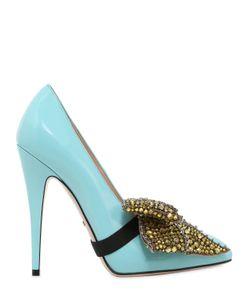 Gucci | Кожаные Туфли Elaisa С Бантом 110Мм