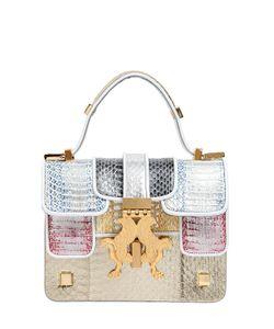 GIANCARLO PETRIGLIA | Сумка Mini P-Bag Из Змеиной Кожи