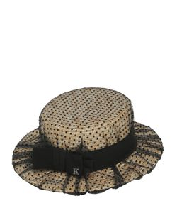 KREISI COUTURE | Соломенная Шляпа-Канотье Sophie