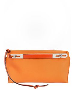 Loewe   Small Missy Textured Leather Clutch