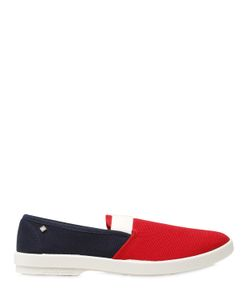 Rivieras | Elastic Band Cotton Loafers