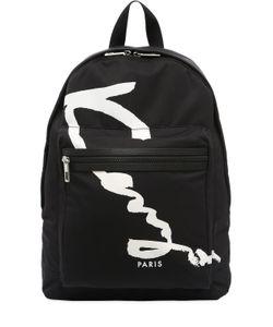 Kenzo | Рюкзак Из Нейлона С Принтом Логотипа