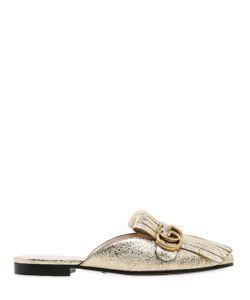 Gucci | Кожаные Туфли-Мюли Marmont 10Мм