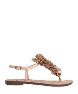 Sam Edelman | 10mm Gates Fringed Leather Sandals