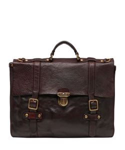 Campomaggi | Vintage Effect Leather Briefcase