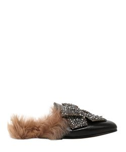 Gucci | Кожаные Туфли-Мюли Princetown С Бантом
