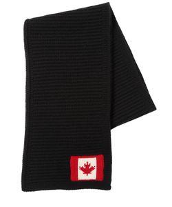Dsquared2 | Шерстяной Шарф С Канадским Флагом
