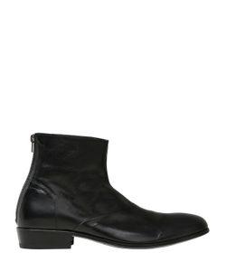 Shoto | Кожаные Ботинки С Ремешком