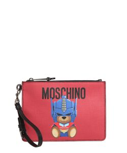 Moschino | Клатч Teddy Transformer