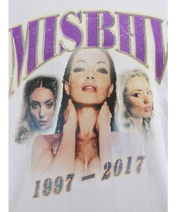 MISBHV | Футболка Из Хлопкового Джерси С Принтом Логотипа
