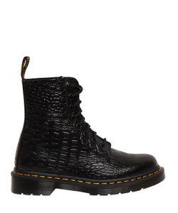 Dr. Martens | Кожаные Ботинки Pascal С Крокодиловым Тиснением