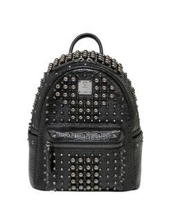 MCM | Кожаный Рюкзак С Заклёпками