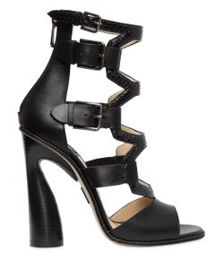 Paul Andrew | 115mm Lagertha Elaphe Leather Sandals
