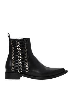 Alexander McQueen | Кожаные Ботинки 20mm