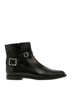 Tod'S   Кожаные Ботинки С Пряжками 10mm