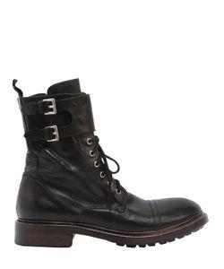 Preventi | Кожаные Ботинки-Комбат Marines