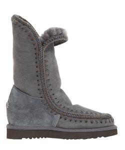 Mou | Ботинки Eskimo Из Овчины 70mm