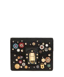 Dolce & Gabbana | Сумка Lucia Из Жаккарда С Вышивкой