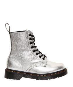Dr. Martens | Кожаные Ботинки Pascal С Эффектом Металлик 30mm