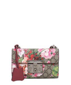 Gucci | Сумка Mini Padlock С Цветочным Принтом
