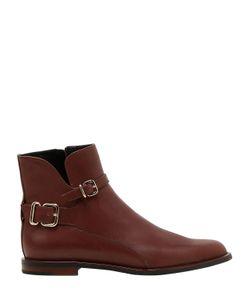 Tod'S | Кожаные Ботинки С Пряжками 10mm