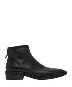 Marsell | Кожаные Ботинки С Винтажным Эффектом 40mm
