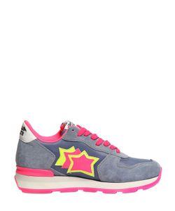 ATLANTIC STARS | Vega Stars Suede Nylon Sneakers