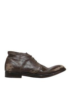 Alberto Fasciani | Кожаные Туфли С Винтажным Эффектом