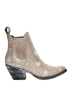 Mexicana | 65mm Stars Suede Ankle Boots