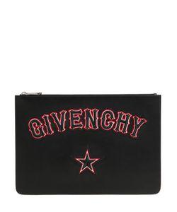 Givenchy | Кожаный Клатч С Логотипом